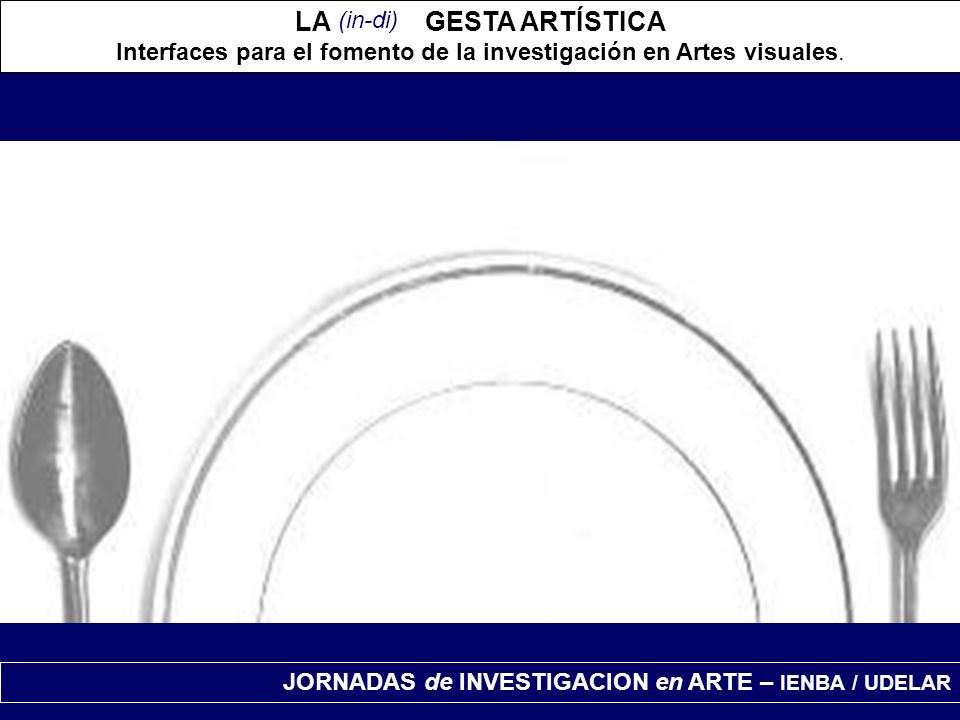 Interfaces para el fomento de la investigación en Artes visuales.
