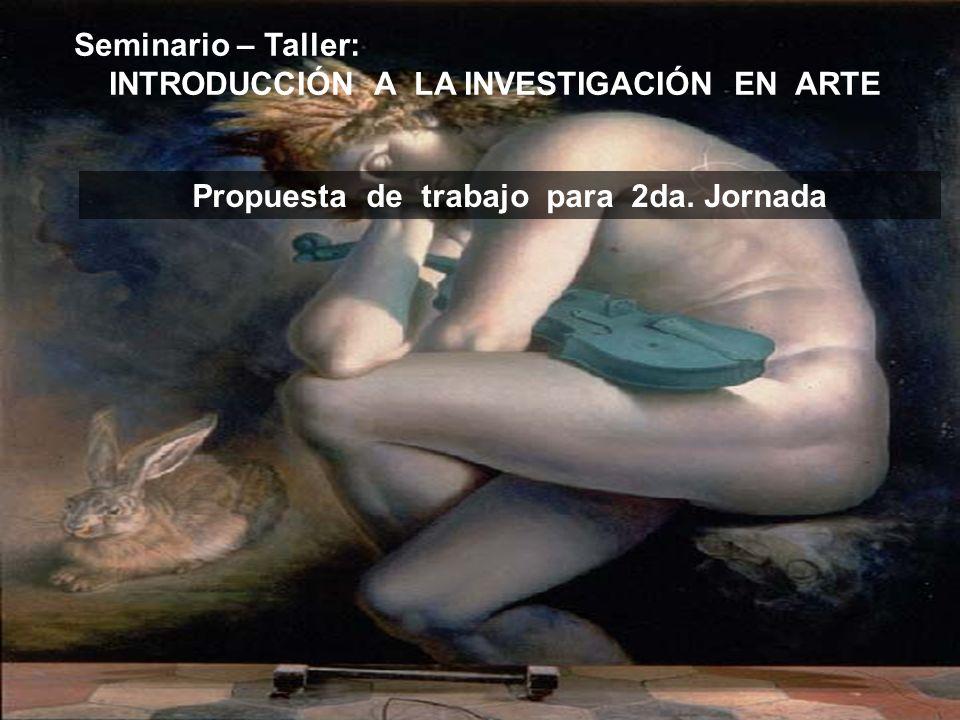 INTRODUCCIÓN A LA INVESTIGACIÓN EN ARTE