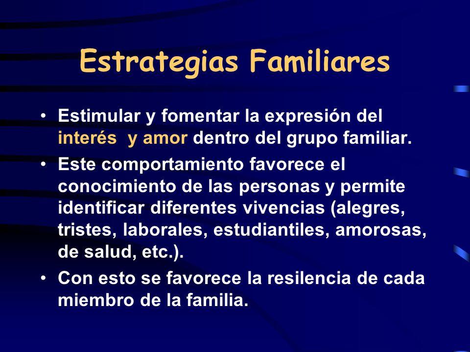 Estrategias Familiares