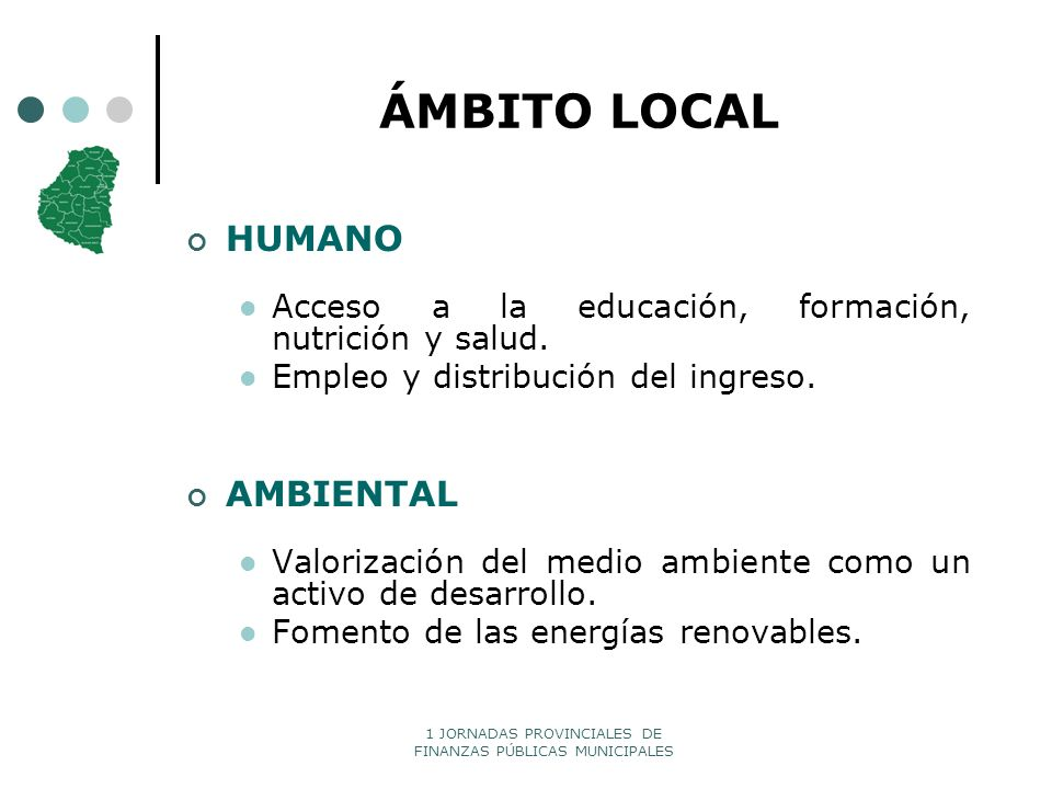 ÁMBITO LOCAL HUMANO AMBIENTAL