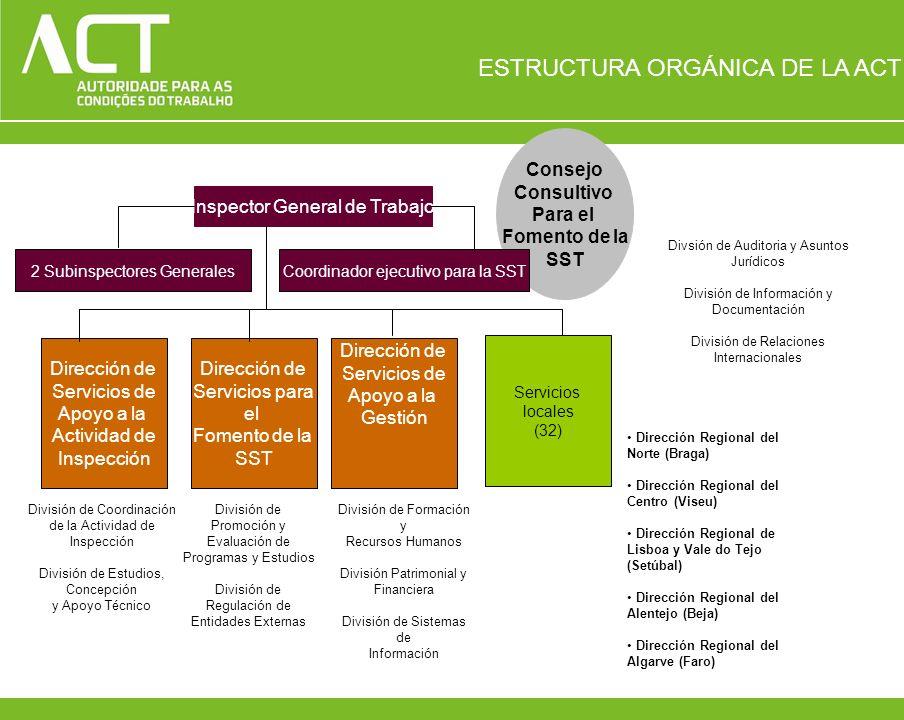ESTRUCTURA ORGÁNICA DE LA ACT