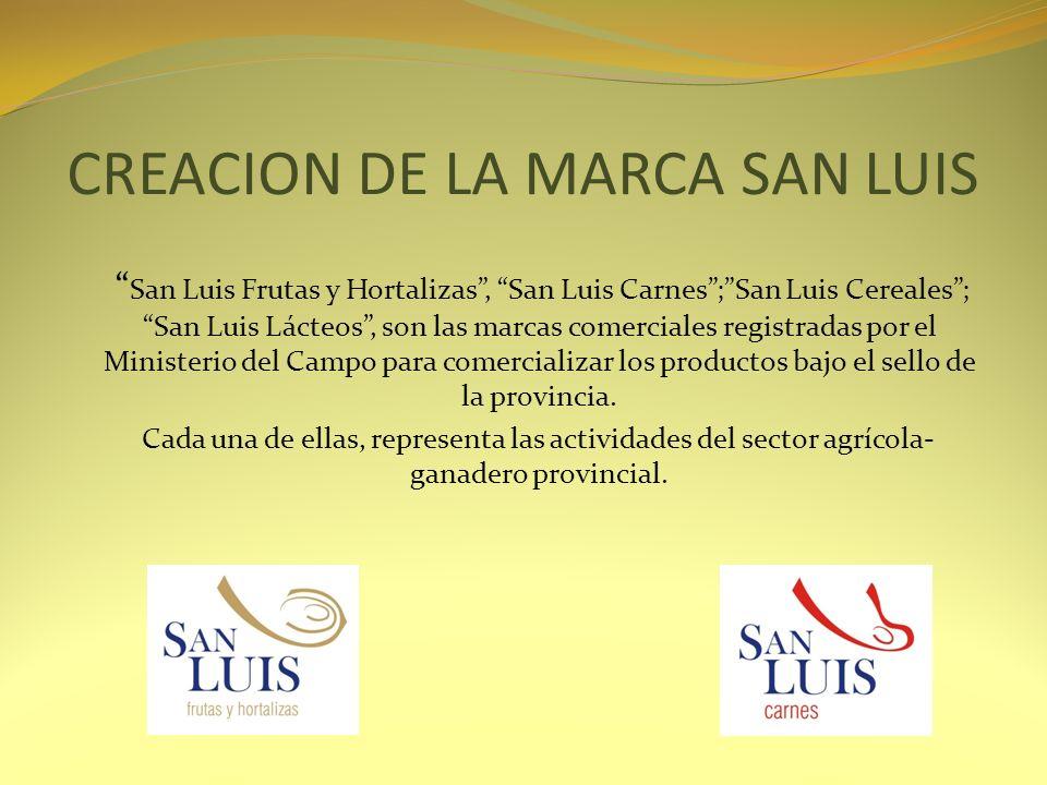 CREACION DE LA MARCA SAN LUIS