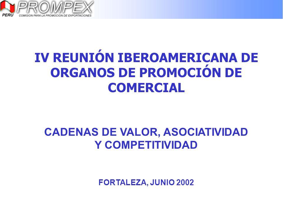 IV REUNIÓN IBEROAMERICANA DE ORGANOS DE PROMOCIÓN DE COMERCIAL