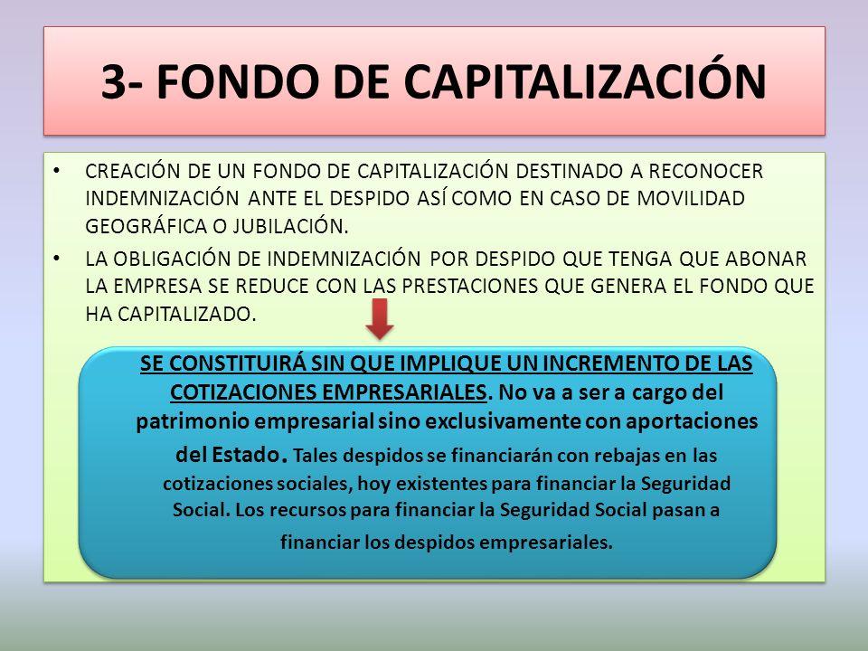 3- FONDO DE CAPITALIZACIÓN