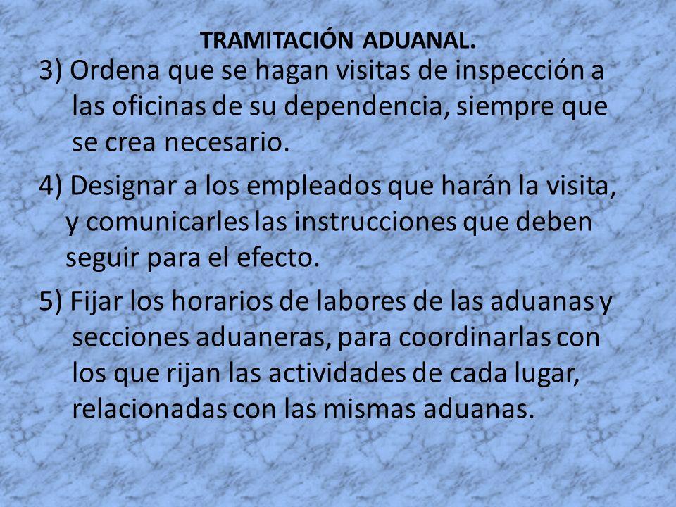 TRAMITACIÓN ADUANAL.