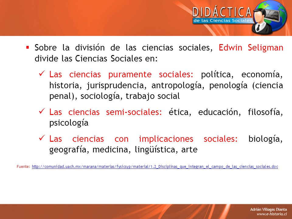 Las ciencias semi-sociales: ética, educación, filosofía, psicología