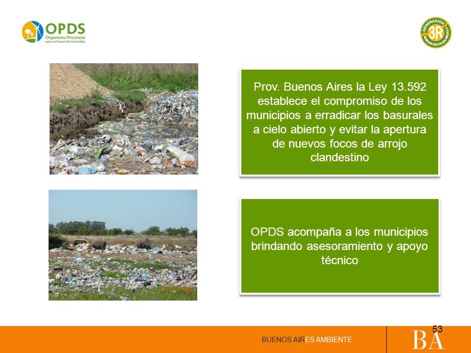 OPDS acompaña a los municipios brindando asesoramiento y apoyo técnico