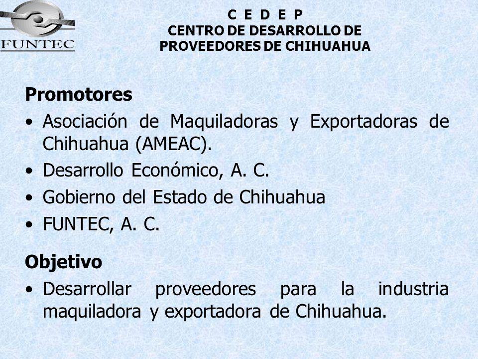 C E D E P CENTRO DE DESARROLLO DE PROVEEDORES DE CHIHUAHUA