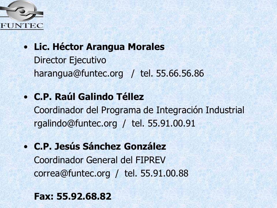 Lic. Héctor Arangua Morales