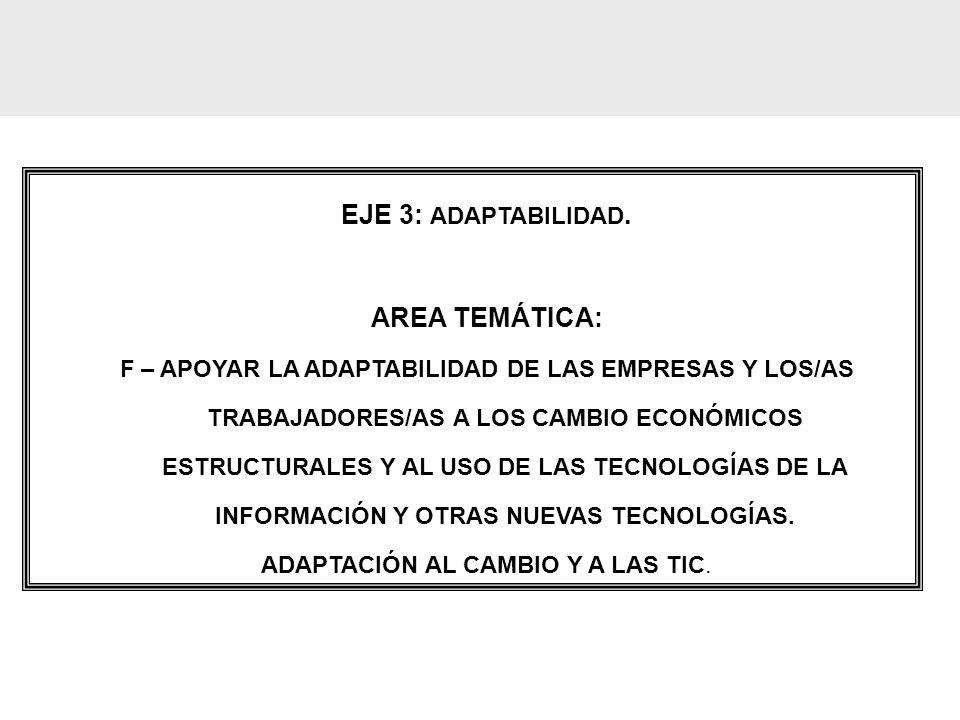 ADAPTACIÓN AL CAMBIO Y A LAS TIC.