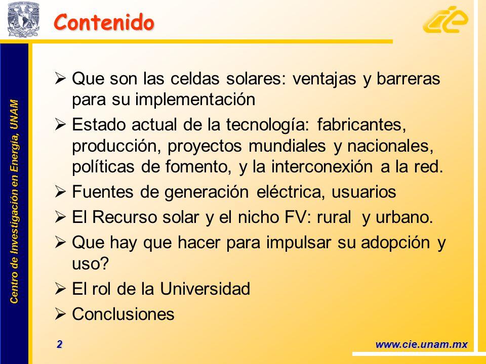 ContenidoQue son las celdas solares: ventajas y barreras para su implementación.