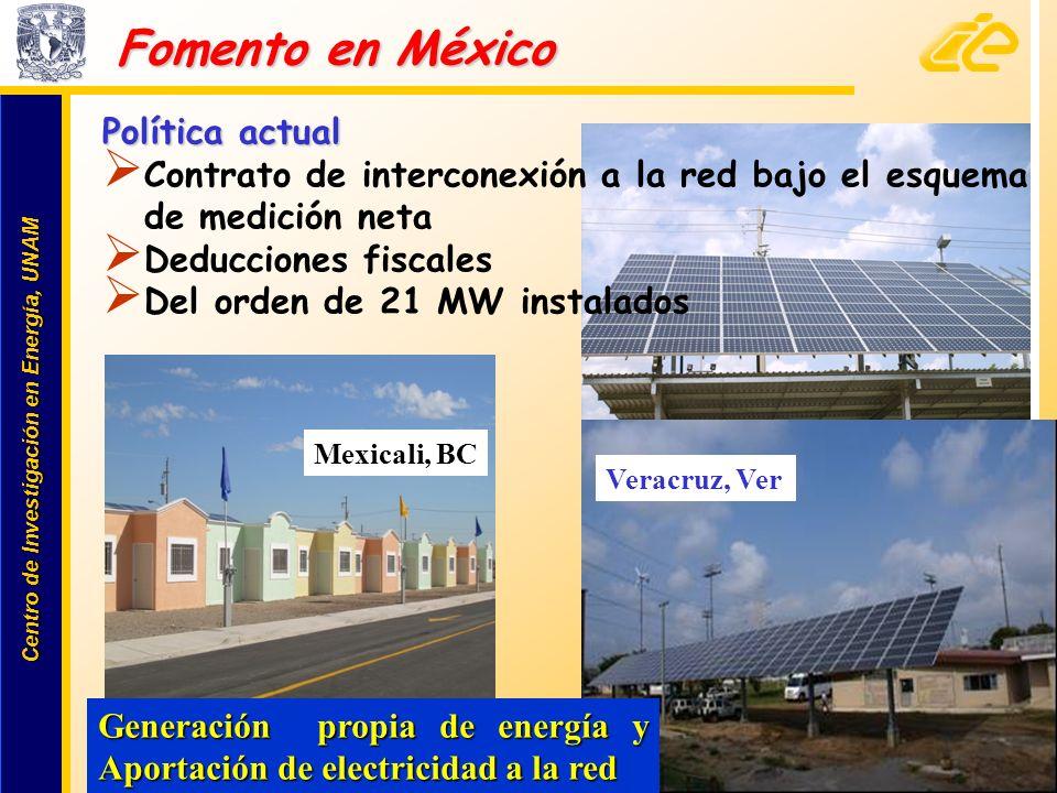 Fomento en México Política actual