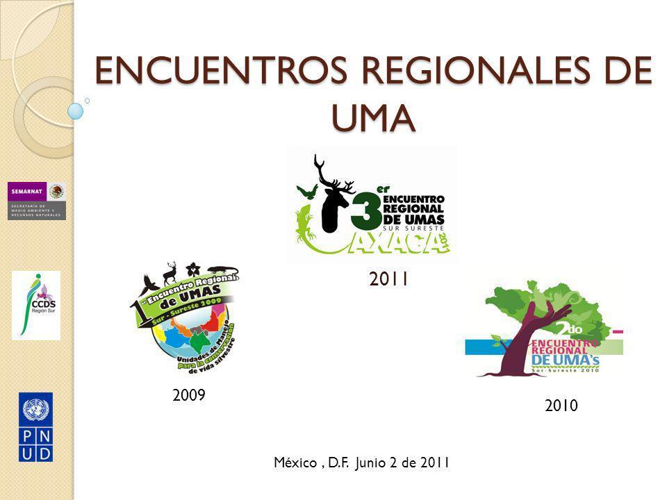 ENCUENTROS REGIONALES DE UMA