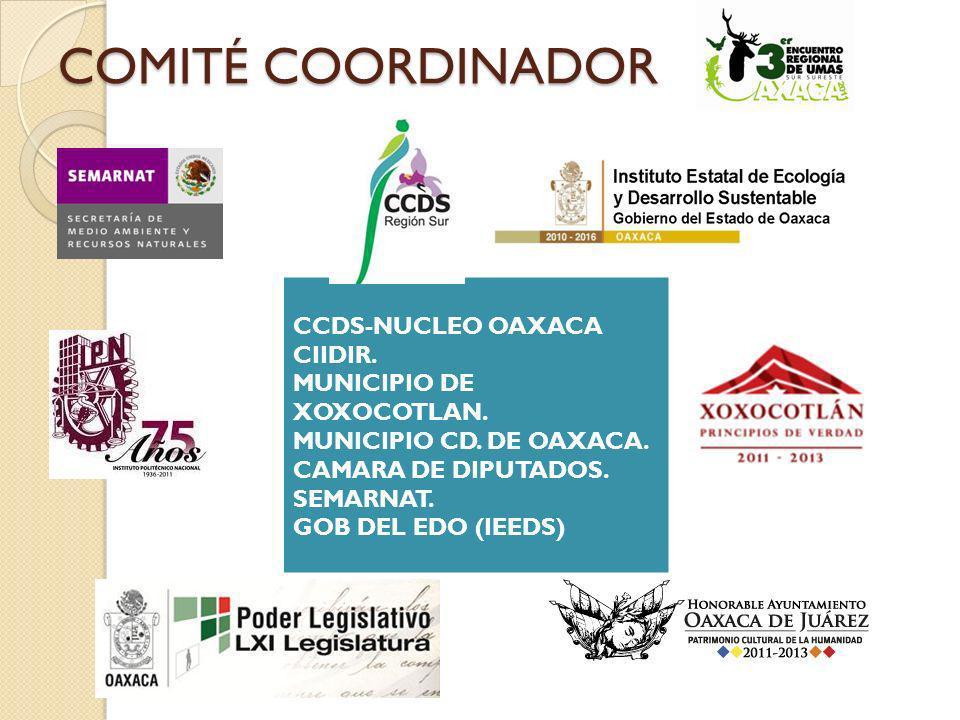 COMITÉ COORDINADOR CCDS-NUCLEO OAXACA CIIDIR. MUNICIPIO DE XOXOCOTLAN.