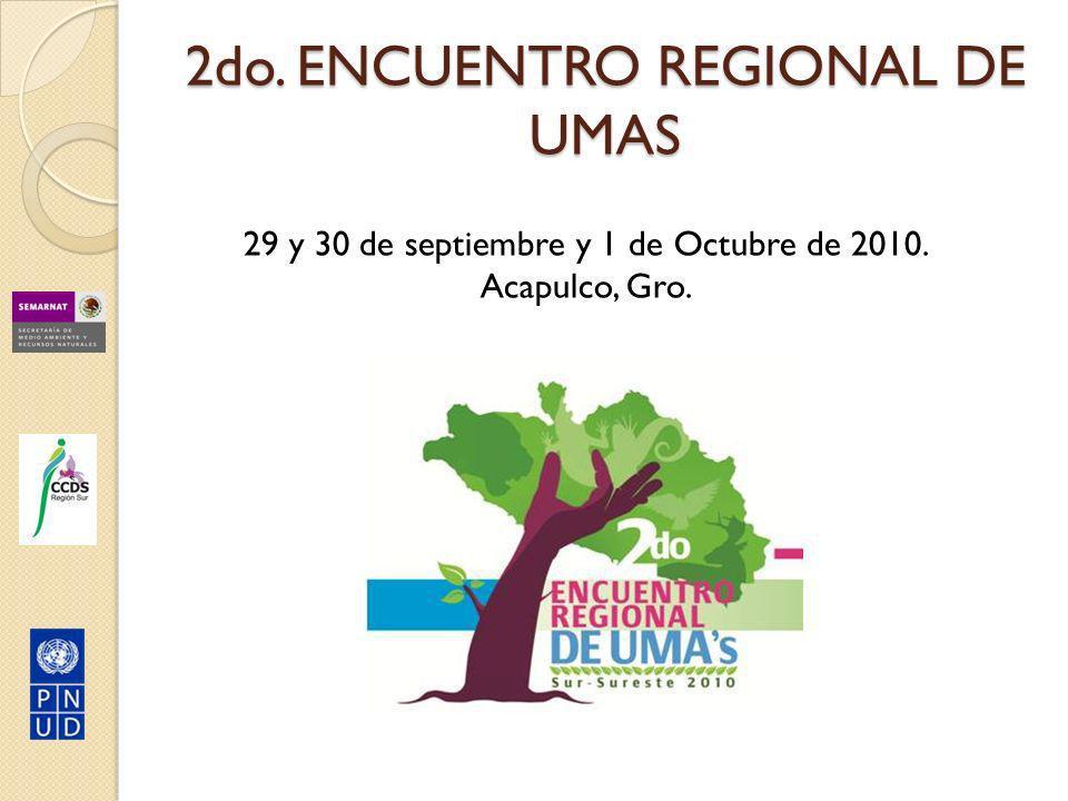 2do. ENCUENTRO REGIONAL DE UMAS