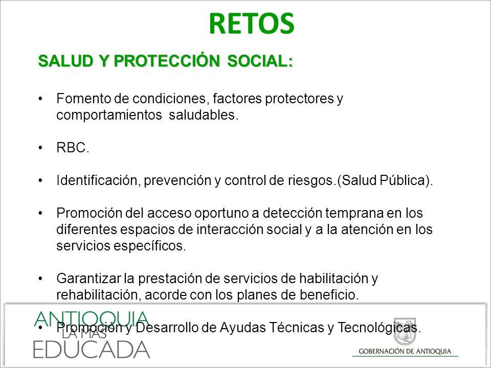 RETOS SALUD Y PROTECCIÓN SOCIAL: