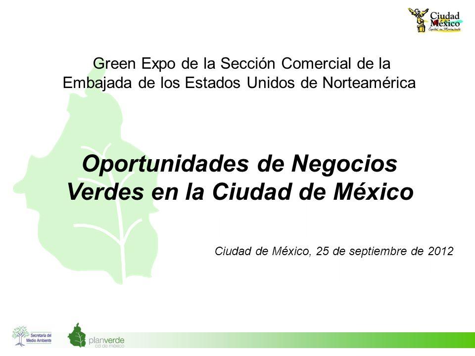 Oportunidades de Negocios Verdes en la Ciudad de México