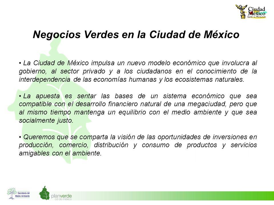 Negocios Verdes en la Ciudad de México