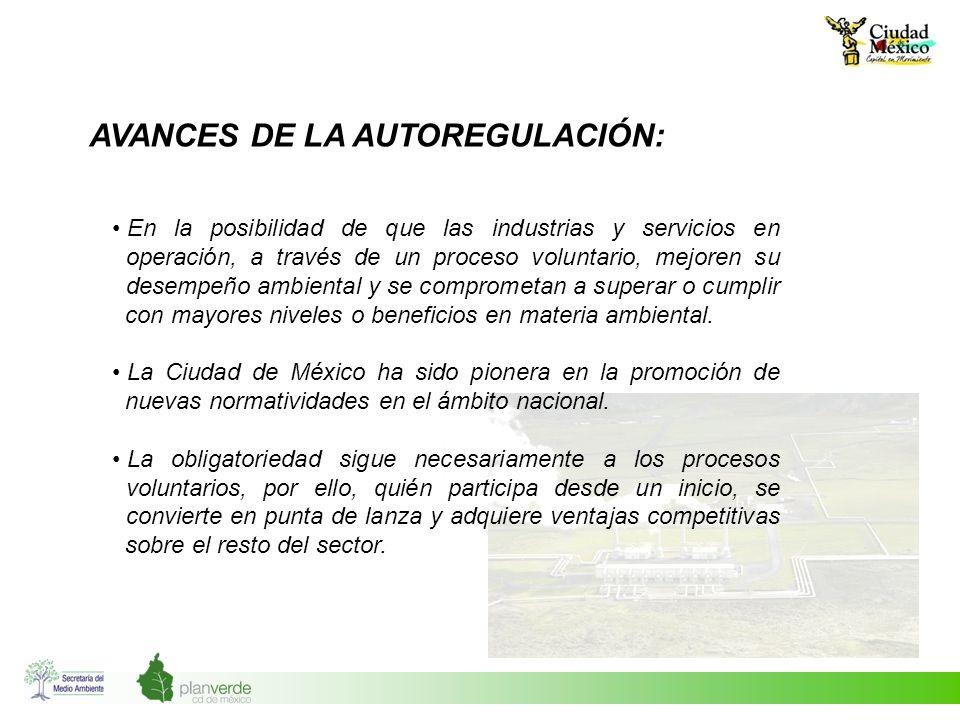 AVANCES DE LA AUTOREGULACIÓN: