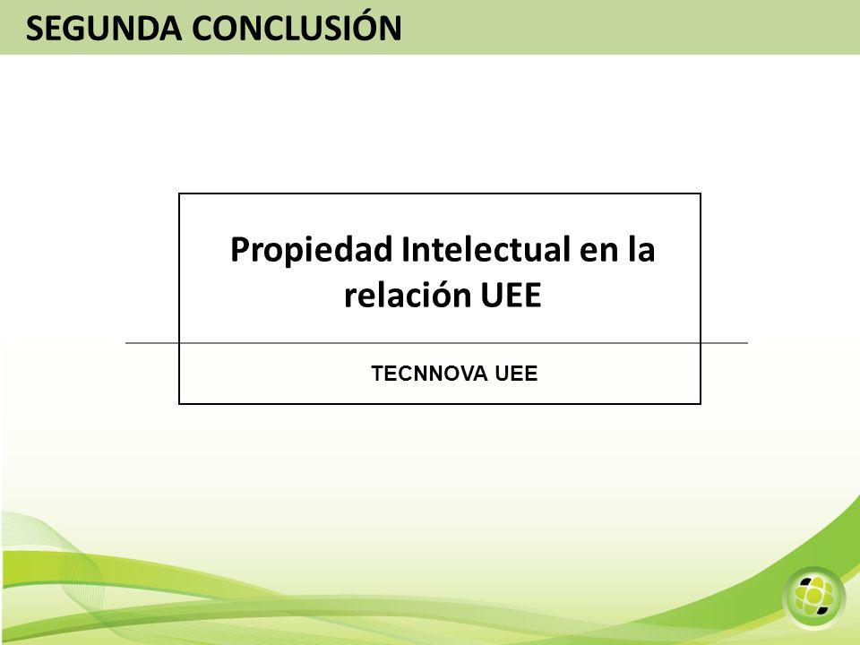 Propiedad Intelectual en la relación UEE