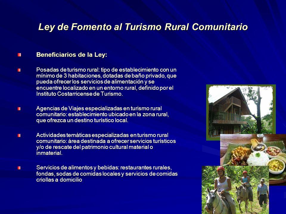 Ley de Fomento al Turismo Rural Comunitario
