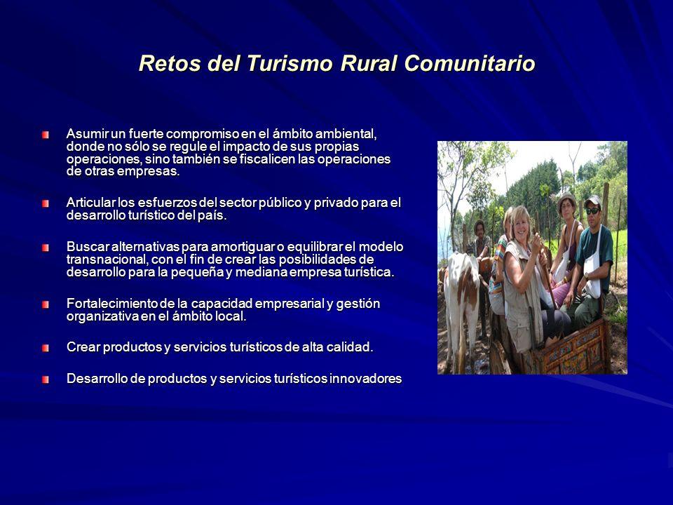 Retos del Turismo Rural Comunitario