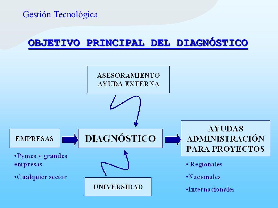 OBJETIVO PRINCIPAL DEL DIAGNÓSTICO
