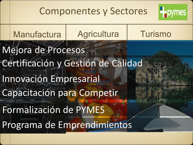 Componentes y Sectores