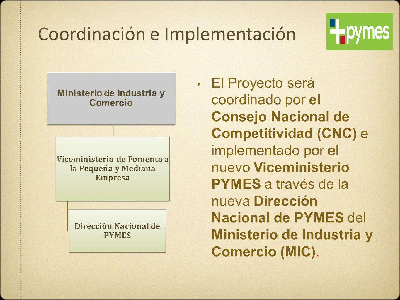 Coordinación e Implementación