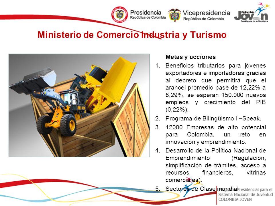 Ministerio de Comercio Industria y Turismo