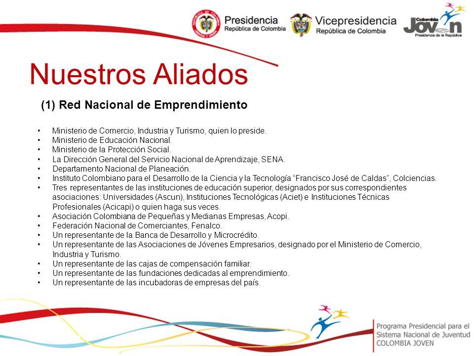 Nuestros Aliados (1) Red Nacional de Emprendimiento