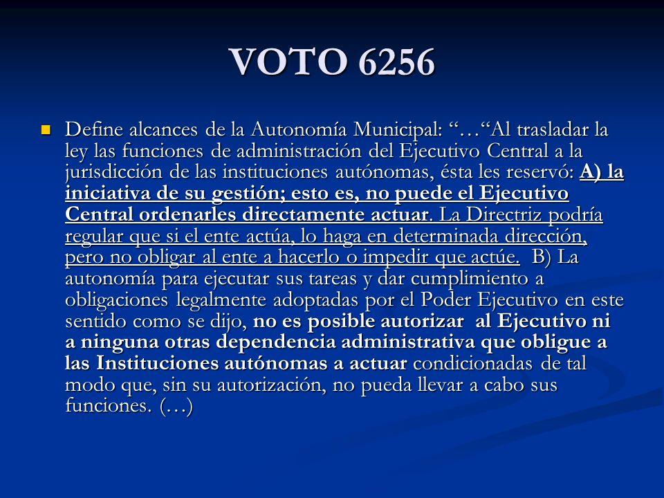 VOTO 6256