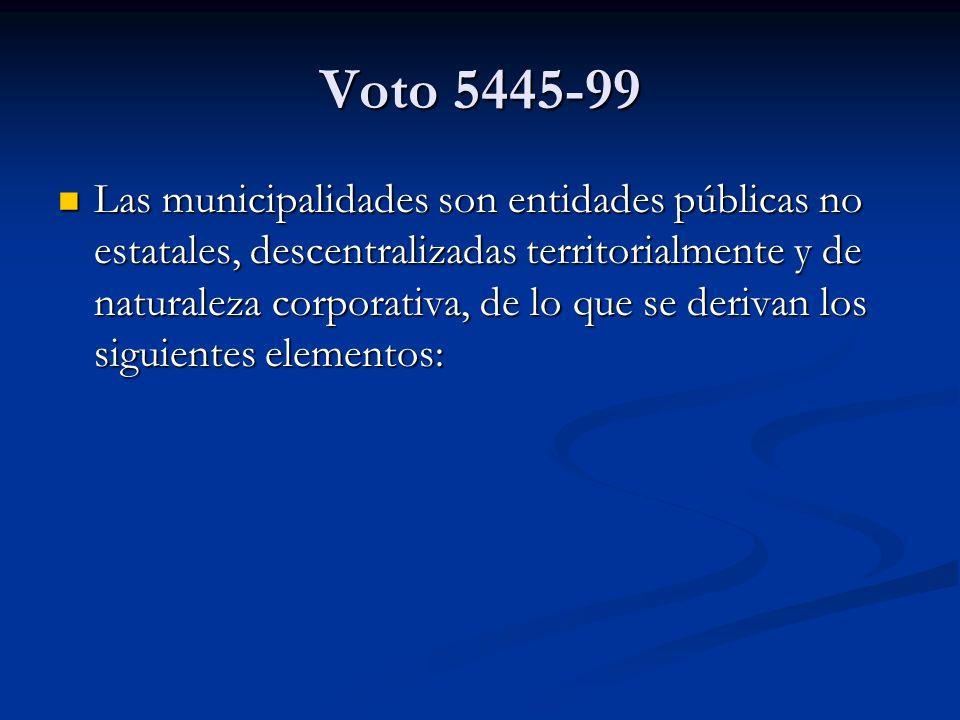 Voto 5445-99