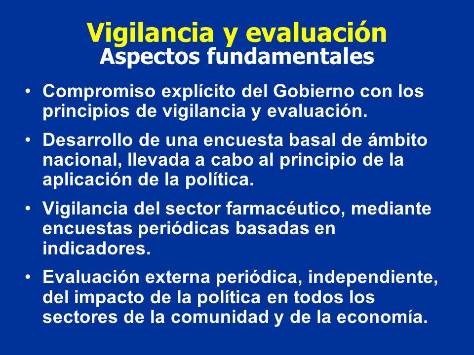 Vigilancia y evaluación Aspectos fundamentales