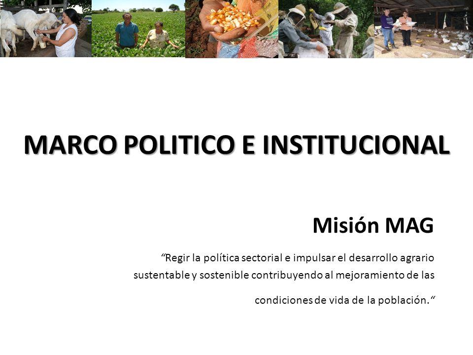 MARCO POLITICO E INSTITUCIONAL