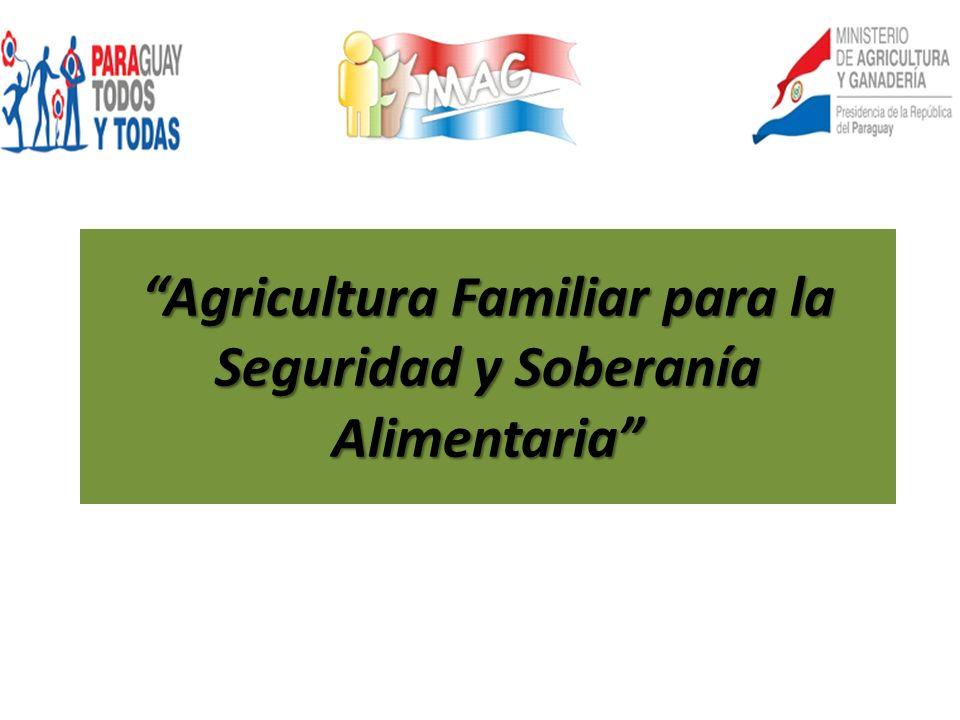 Agricultura Familiar para la Seguridad y Soberanía Alimentaria