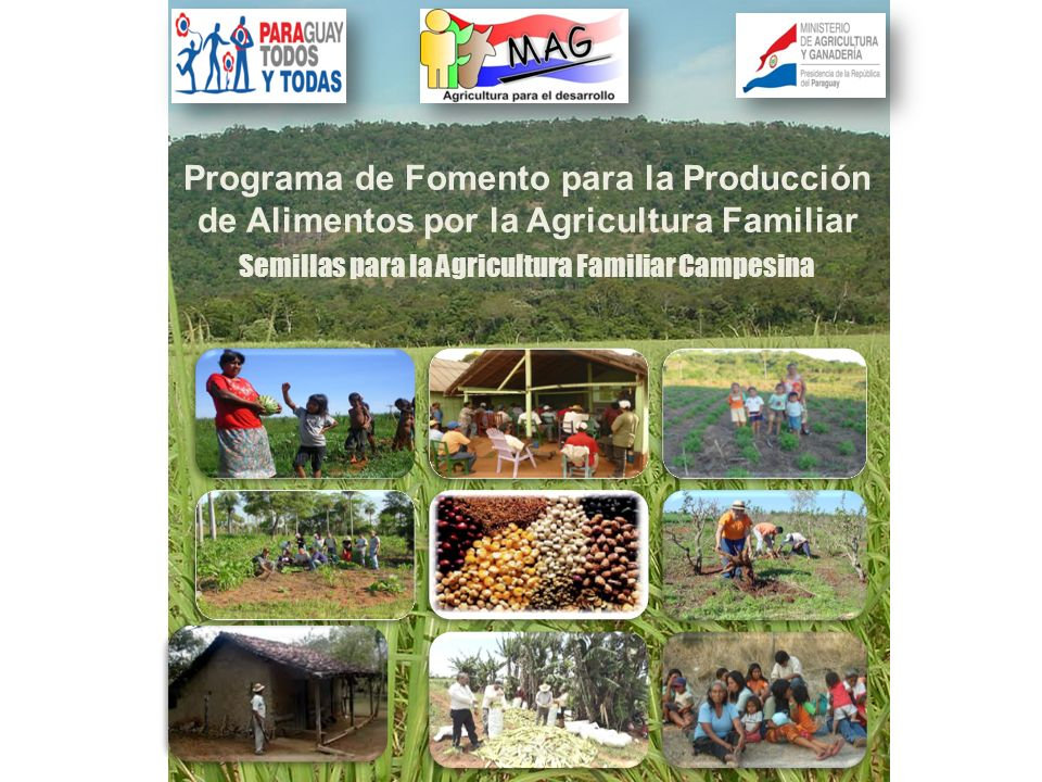 Semillas para la Agricultura Familiar Campesina