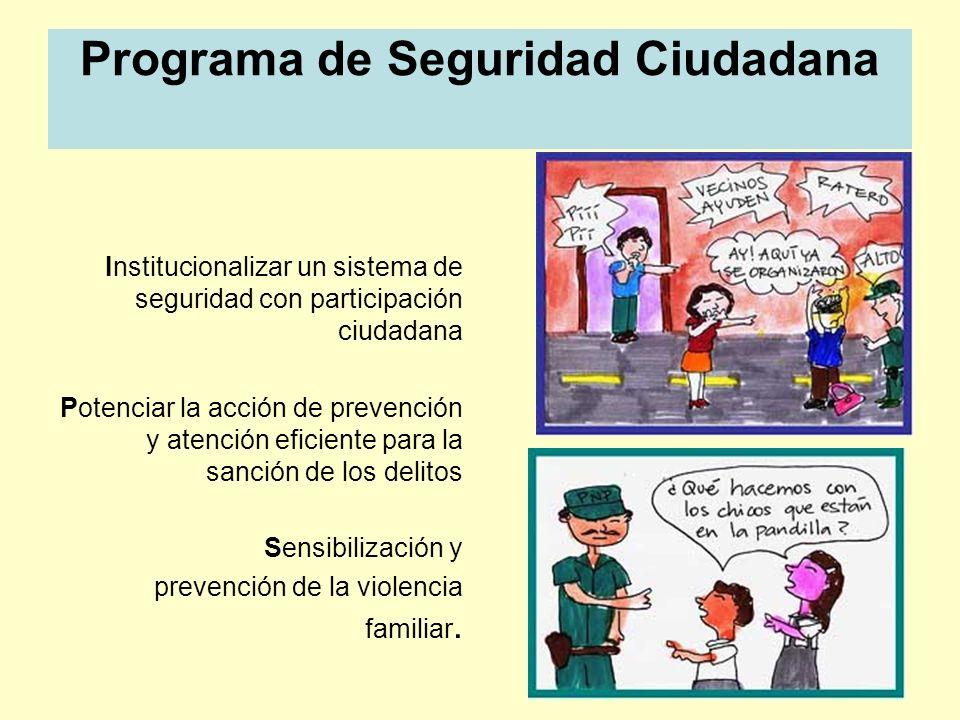 Programa de Seguridad Ciudadana