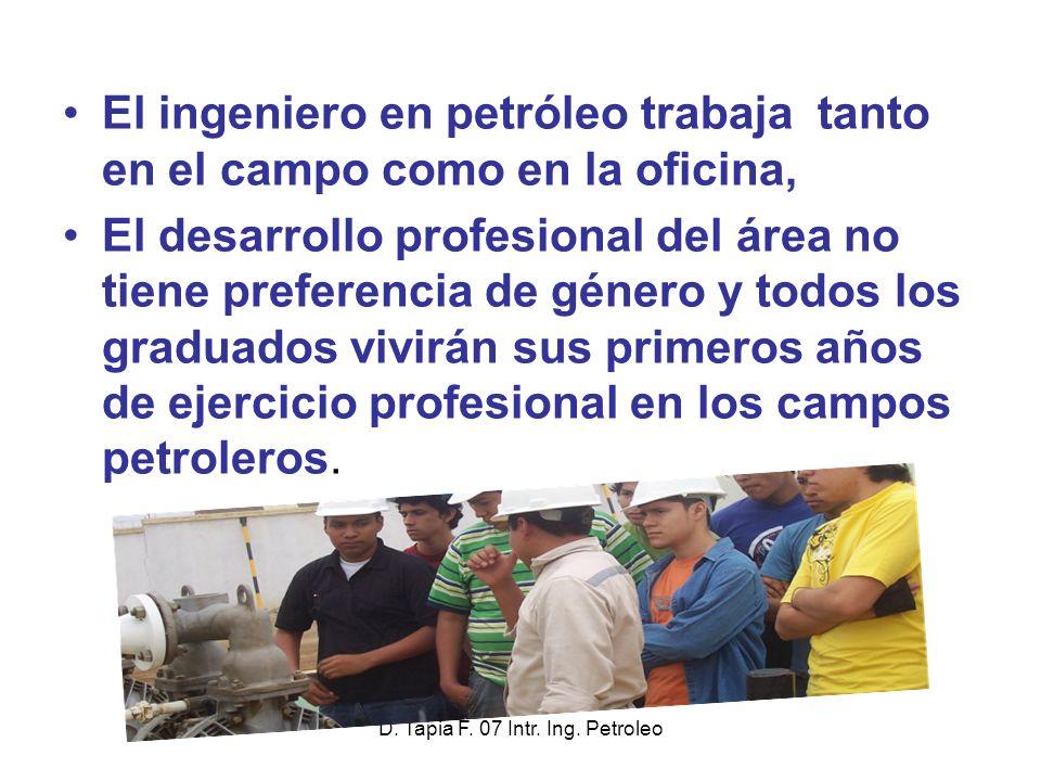 Ingenier a en petroleo en la fict espol ppt descargar for Oficina fisica ing