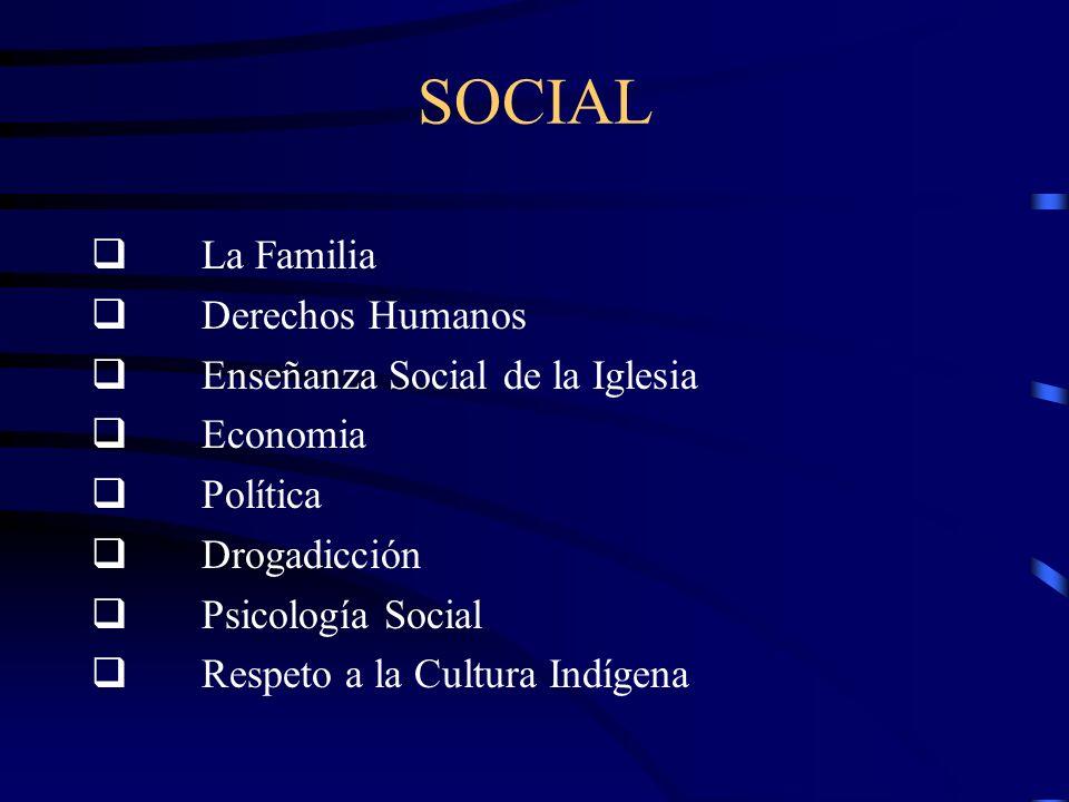SOCIAL q La Familia q Derechos Humanos