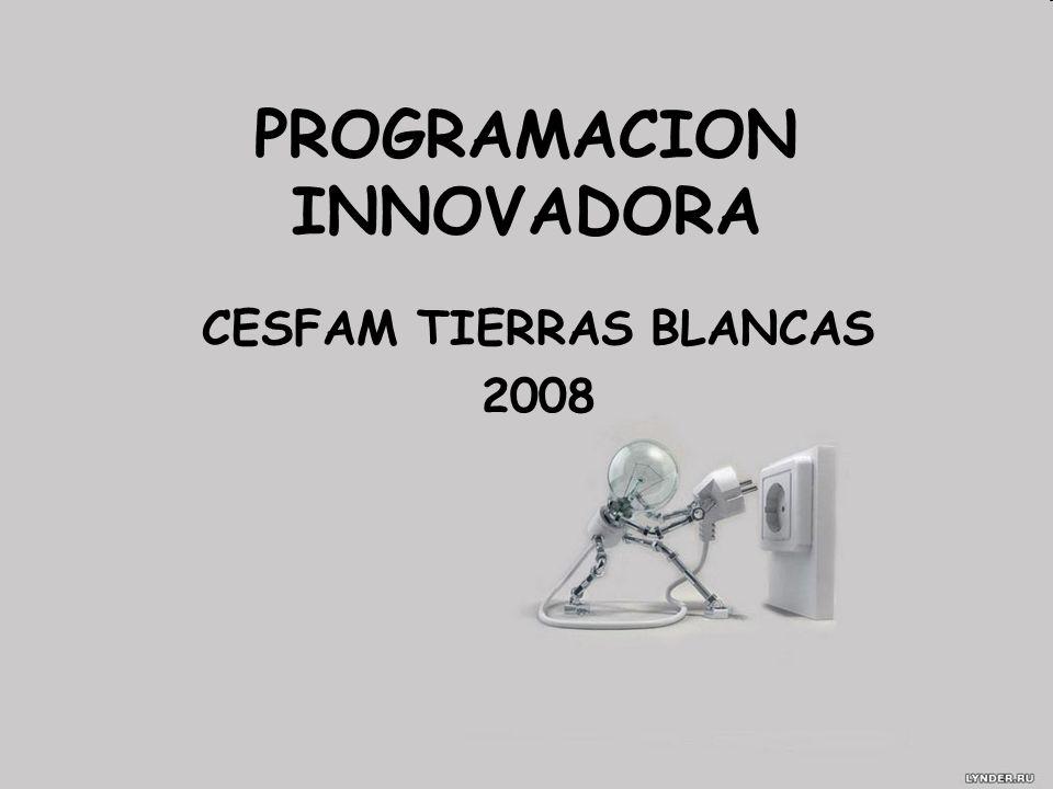 PROGRAMACION INNOVADORA