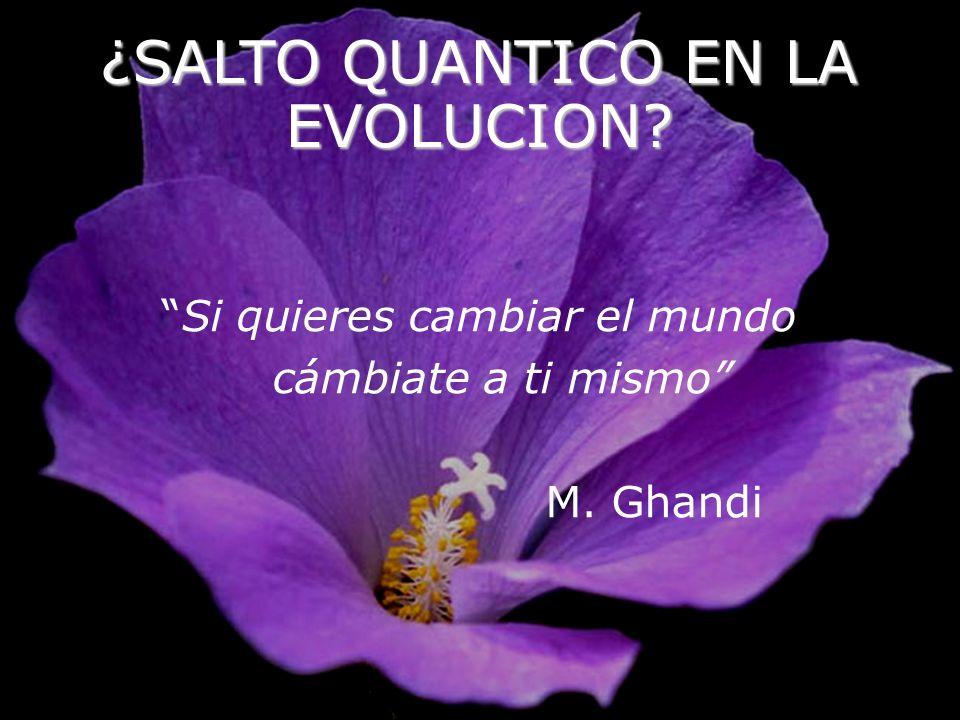 ¿SALTO QUANTICO EN LA EVOLUCION