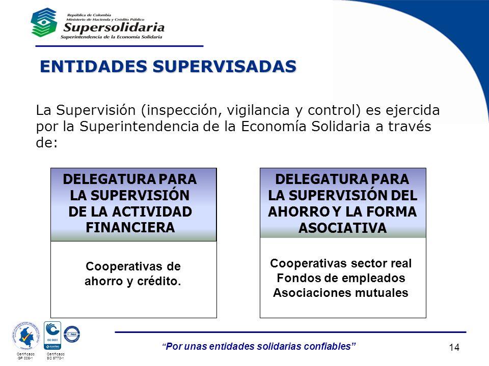 ENTIDADES SUPERVISADAS