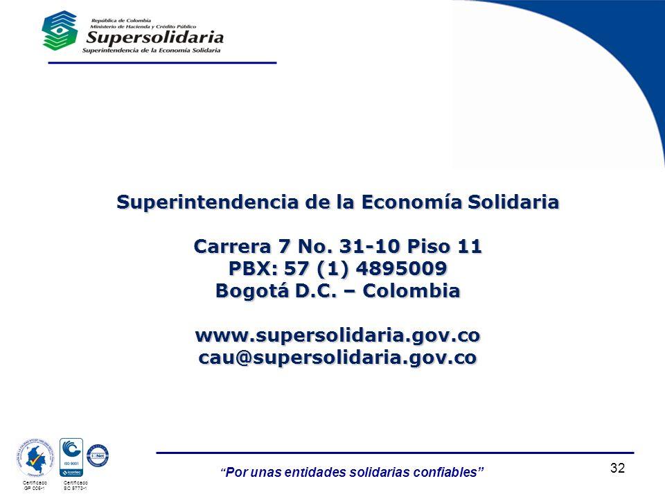 Superintendencia de la Economía Solidaria