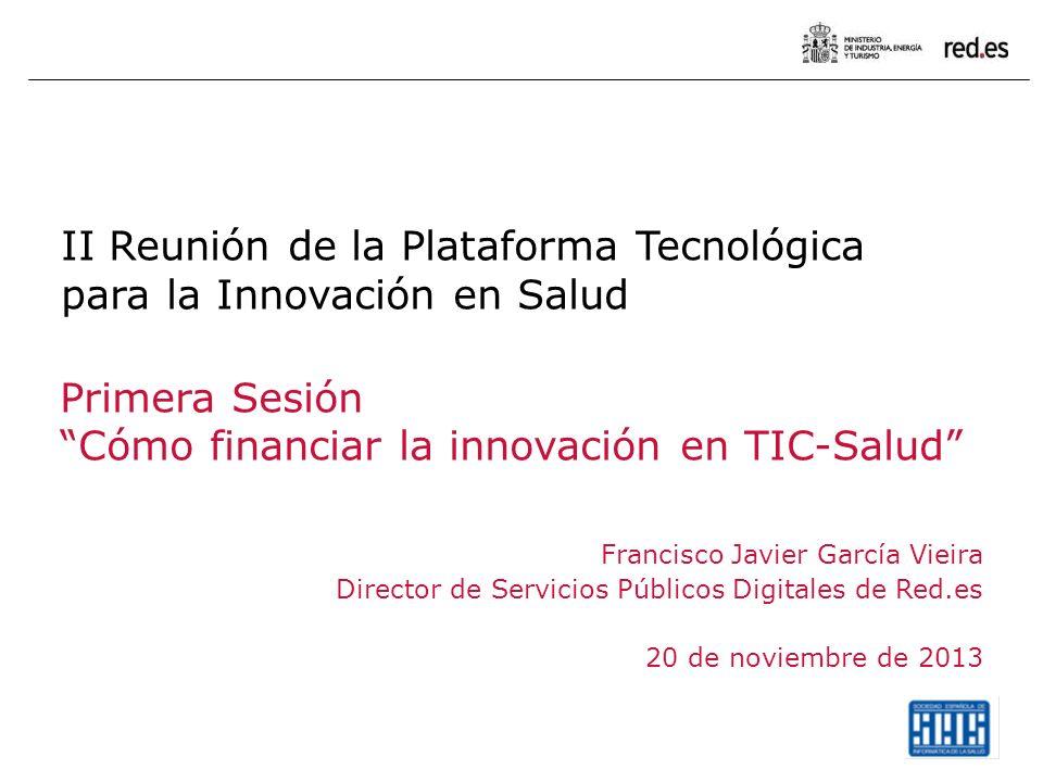 II Reunión de la Plataforma Tecnológica para la Innovación en Salud