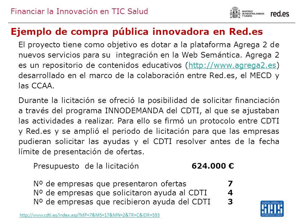 Ejemplo de compra pública innovadora en Red.es