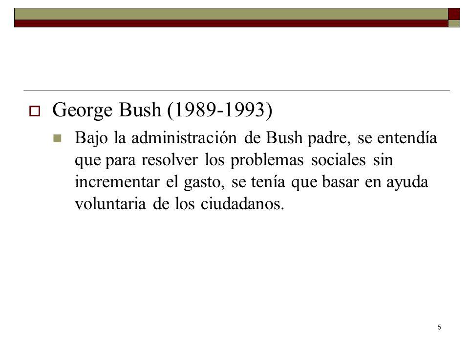 George Bush (1989-1993)