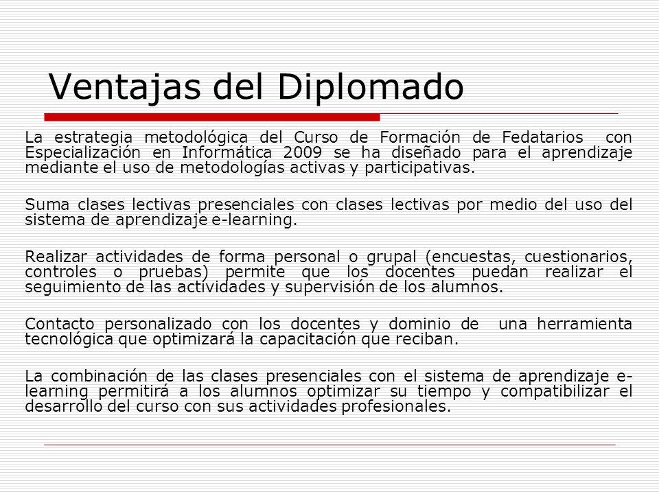 Ventajas del Diplomado