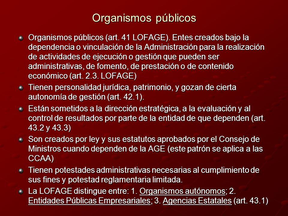 Organismos públicos