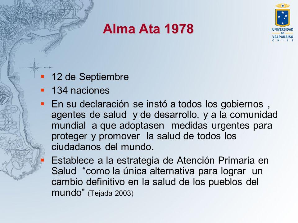 Alma Ata 1978 12 de Septiembre 134 naciones